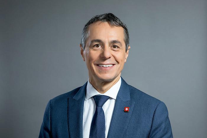 نائبرئيسالكونفدرالية السويسرية يزور الجزائر
