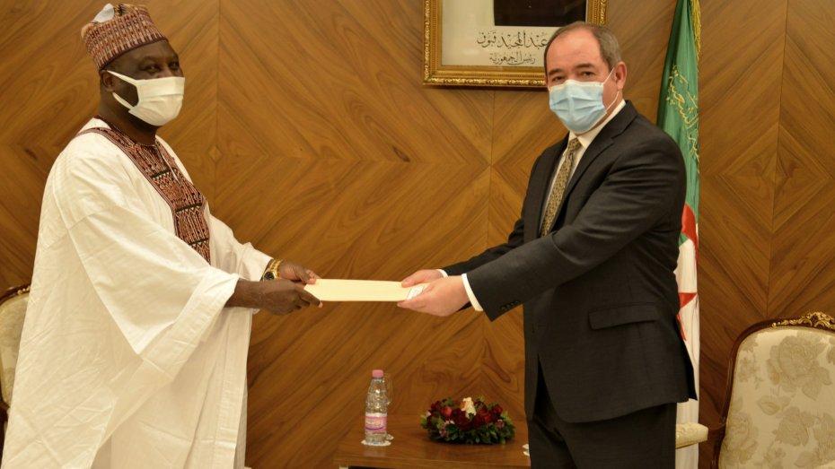 بوقدوم يستقبل عددا من السفراء الجدد المعتمدين بالجزائر