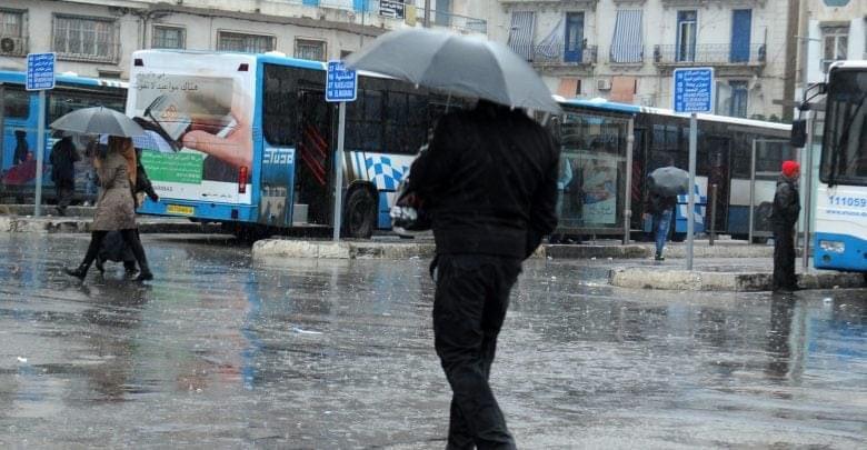 تساقط أمطار رعدية في 17 ولاية