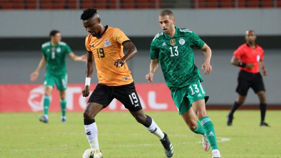 """الـ""""كاف"""" توضح سبب خروج إسلام سليماني عن """"المألوف"""" في مباراة زامبيا"""
