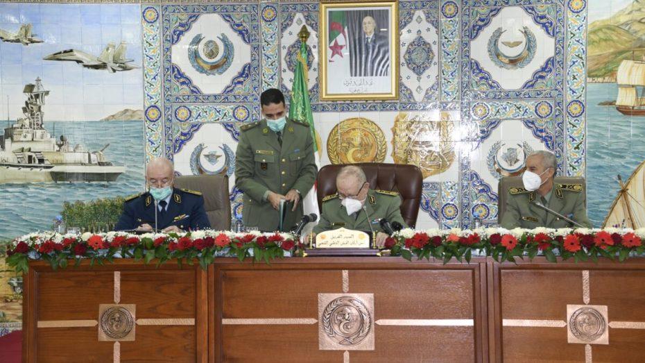 شنقريحة ينصب الأمين العام لوزارة الدفاع الوطني بالنيابة