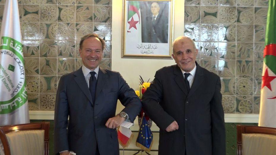 السفير الإيطالي: إيطاليا تتابع باهتمام الوضع السياسي في الجزائر
