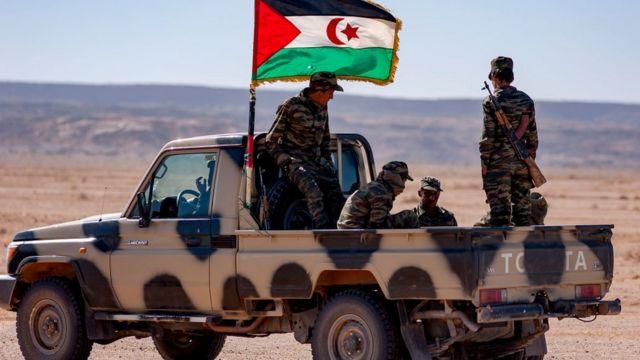 جيش التحرير الشعبي الصحراوي يستهدف تخدندقات الاحتلال المغربي