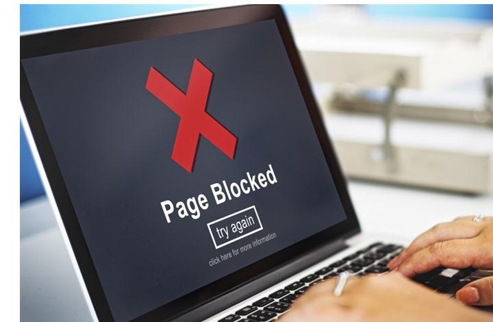 مكتب التحقيقات السيبريانية يحجب خمسة مواقع إلكترونية أجنبية