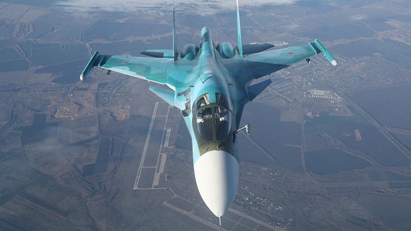 """صفقة بين الجزائر وروسيا لاقتناء مقاتلة """"SU 34"""""""