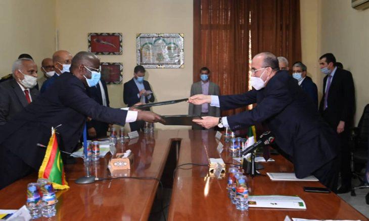 لجنة حدودية مشتركة بين الجزائر وموريتانيا لتسيير الأزمات ومحاربة الجريمة