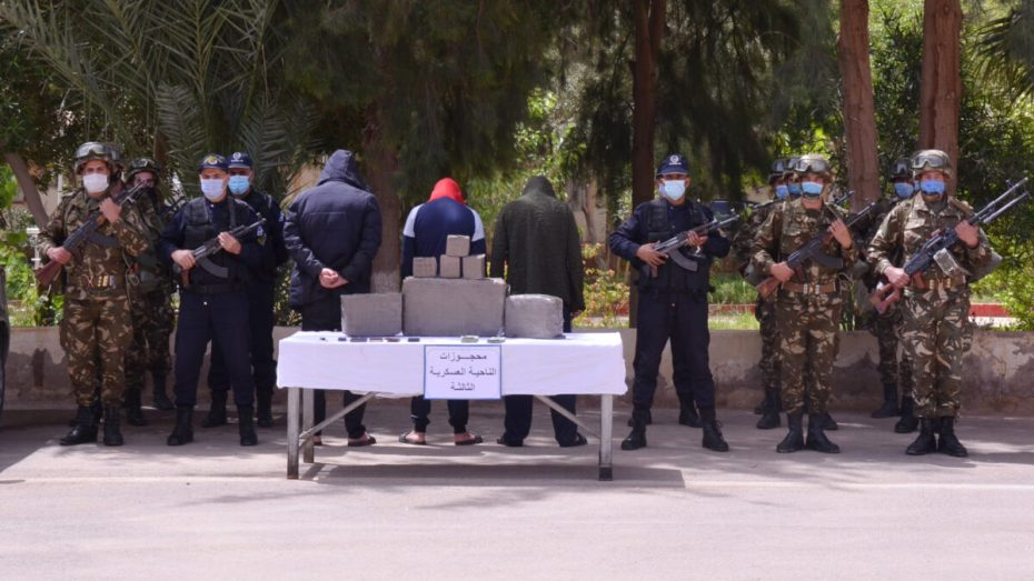 تدمير 15 مخبأ وتوقيف 6 عناصر مفارز دعم للجماعات الإرهابية