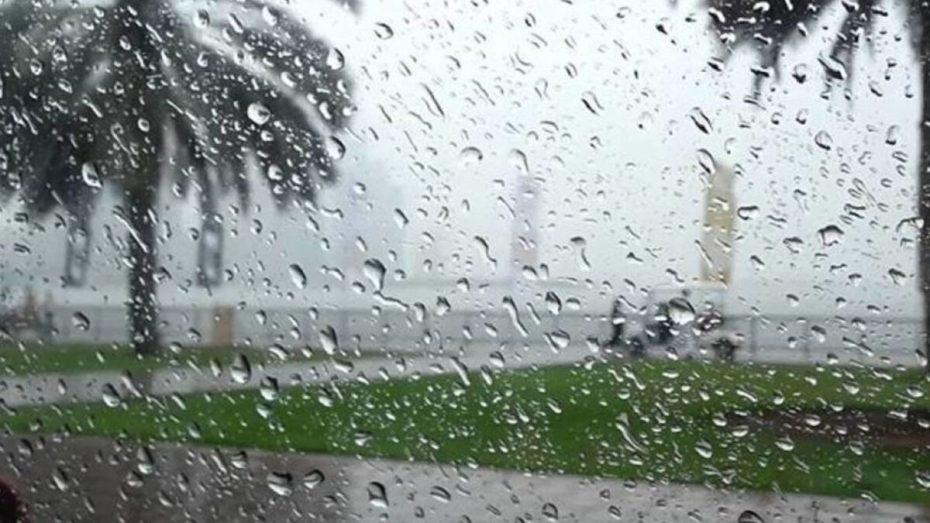 تساقط الأمطار بمناطق عدة من الوطن