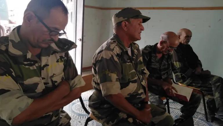 استشهاد قائد سلاح الدرك الوطني الصحراوي