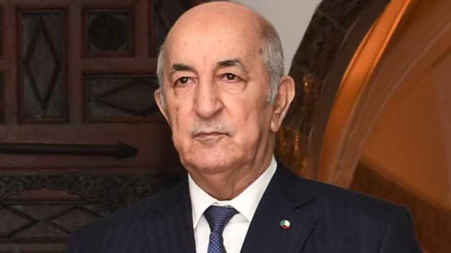 تبون يجدد دعم الجزائر للمصالحة في ليبيا