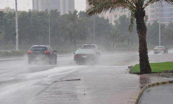 أمطار رعدية معتبرة مساء اليوم على هذه الولايات