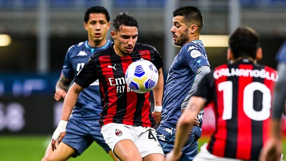 ريكاردو كاكا يربط تراجع نتائج ميلان الإيجابية باللاعب الجزائري بن ناصر