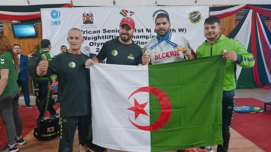 """وليد بيداني يقود """"الخضر"""" لاكتساح البطولة الإفريقية لرفع الأثقال في يومها الثالث"""