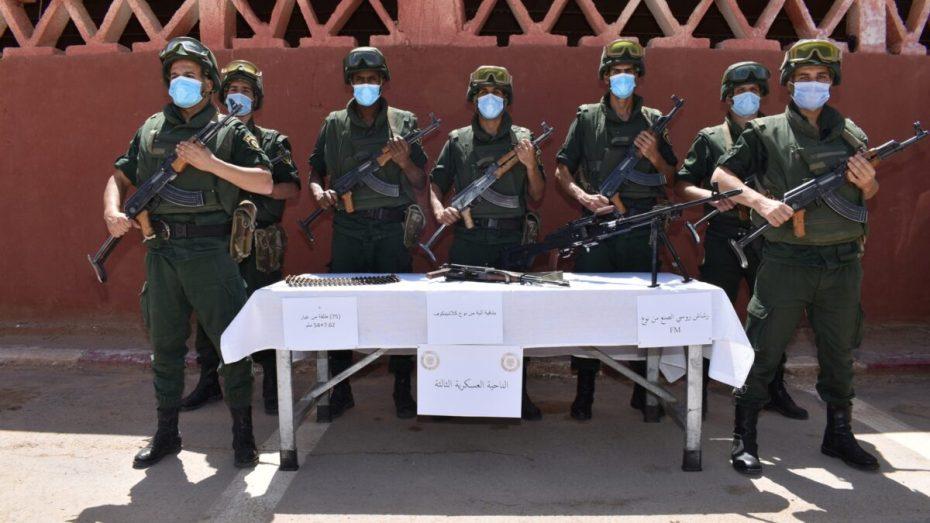الجيش يضبط 5 قناطير من المخدرات