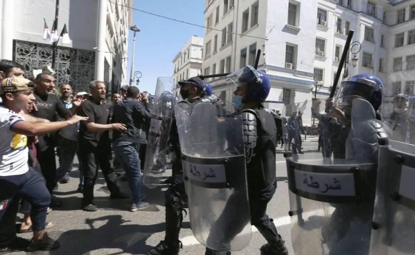 الرابطة الجزائرية للدفاع عن حقوق الإنسان تكشف عدد الموقوفين في حراك أمس