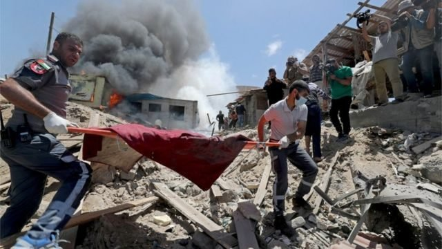 غزة: ارتفاع حصيلة العدوان الإسرائيلي إلى 217 شهيدا بينهم 63 طفلا