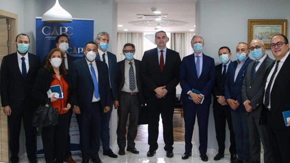 سفير فرنسا بالجزائر يجتمع بممثلي الكونفدرالية الجزائرية لأرباب العمل