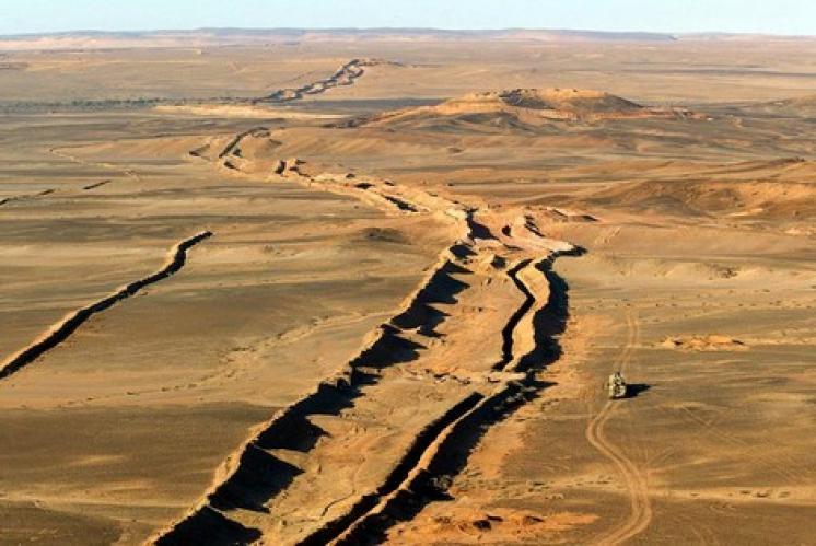 لزهاري: المغرب زرع 10 ملايين لغم في جدار العار
