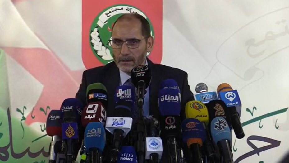 مقري: رفضنا المشاركة في الحكومة لأننا نريد أن نكون في الحكم وليس في الواجهة