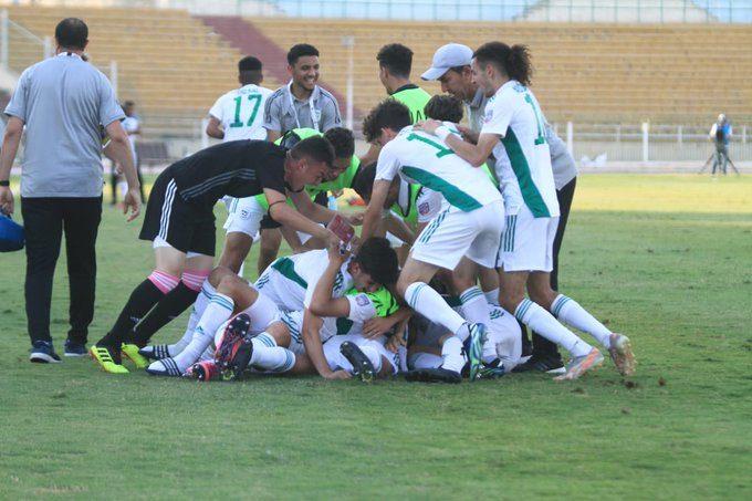كأس العرب للأواسط: الجزائر تتأهل للدور الثاني دون إقناع