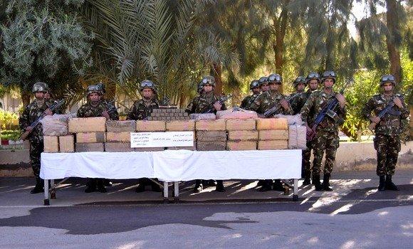 إحباط محاولات إدخال 10 قناطير من المخدرات عبر الحدود المغربية