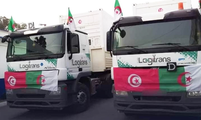 الجزائر تقرر وقف تصدير الأوكسجين إلى تونس