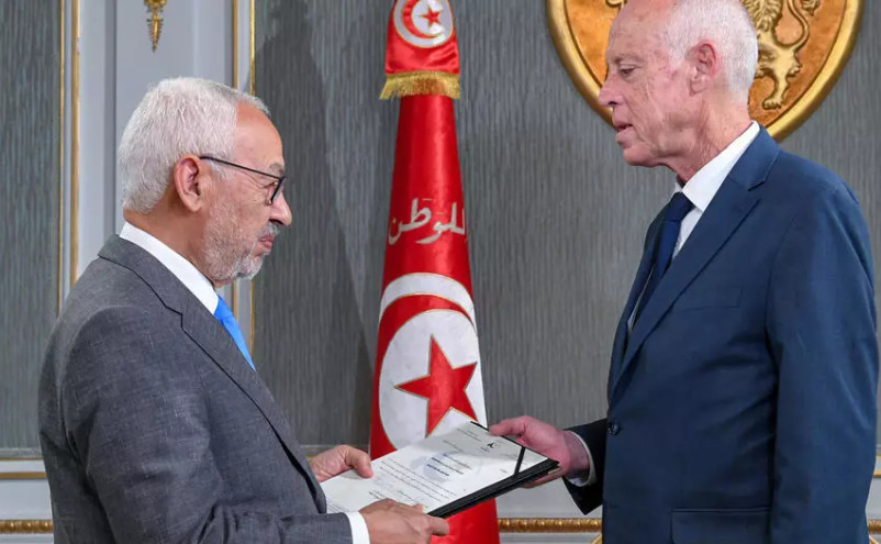 راشد الغنوشي ينشئ جبهة للتصدي للرئيس التونسي قيس سعيّد
