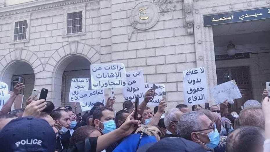 """المحامون يصعّدون ضدّ """"التعسف"""""""