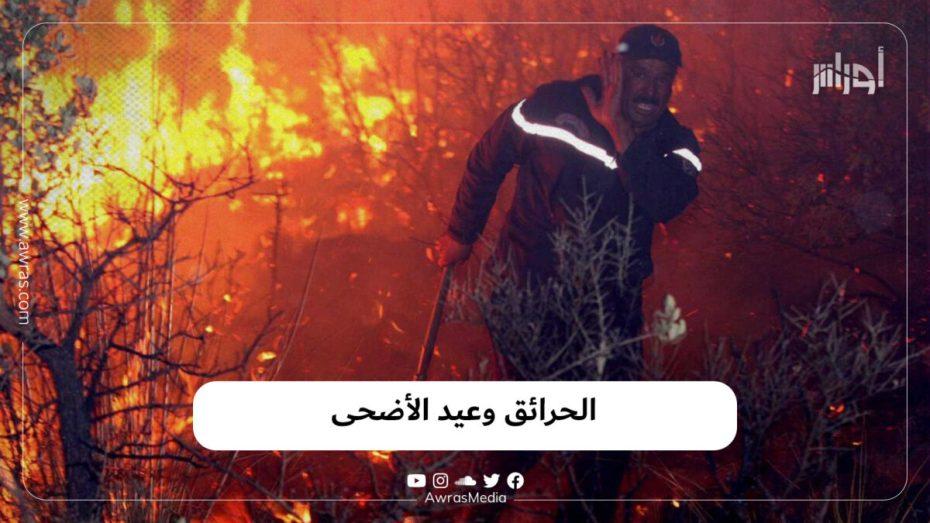 الحرائق و عيد الأضحى
