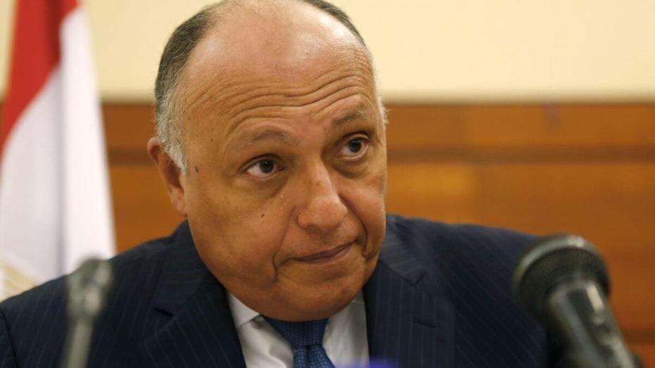 وزير الخارجية المصري يؤكد من الجزائر ضرورة خروج المقاتلين المرتزقة من ليبيا