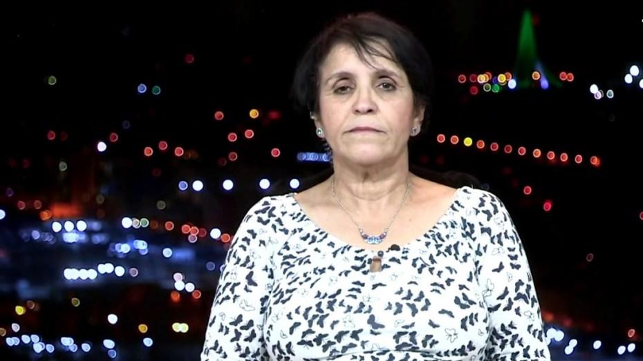 """شاهد.. حدة حزام تنتقد نورين لرفض منازلة خصمه الصهيوني في """"الأولمبياد"""" وتنسحب من النقاش"""