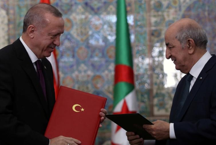 الجزائر تعلّق على التدخلات التركية في الأراضي العربية