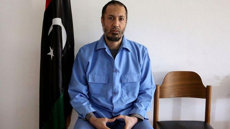 الإفراج عن الساعدي القذافي نجل الرئيس الليبي السابق معمّر القذافي