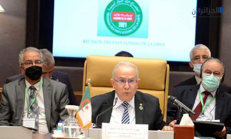 الجزائر تجدد دعمها لتحقيق مصالحة وطنية شاملة في ليبيا