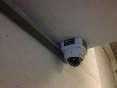 Camera anti vandale parking