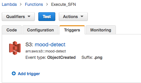 Simple Mood Detector powered by Amazon Rekognition and AWS Step