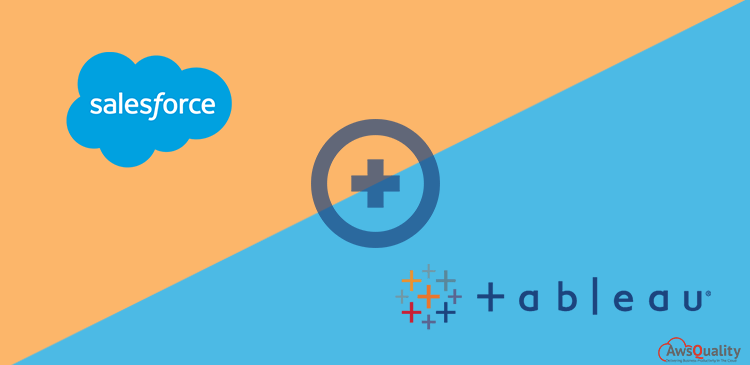 How Tableau integration with Salesforce benefit Organization?