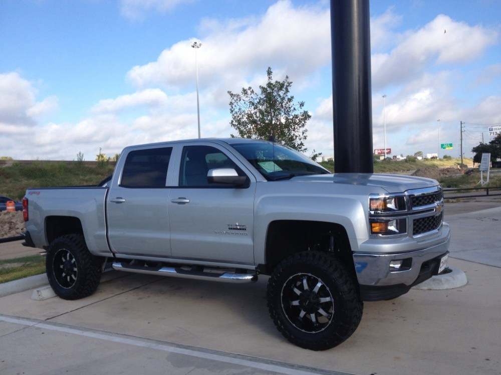 medium resolution of mkw offroad m83 wheels in satin black machined on a 2014 chevrolet silverado 1500