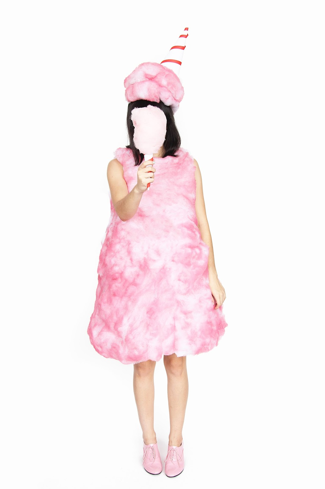 diy cotton candy halloween