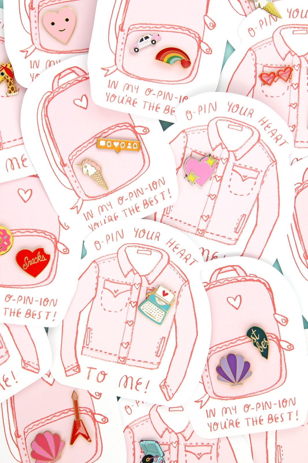 Pin It Enamel Pin Valentine S Day Printables