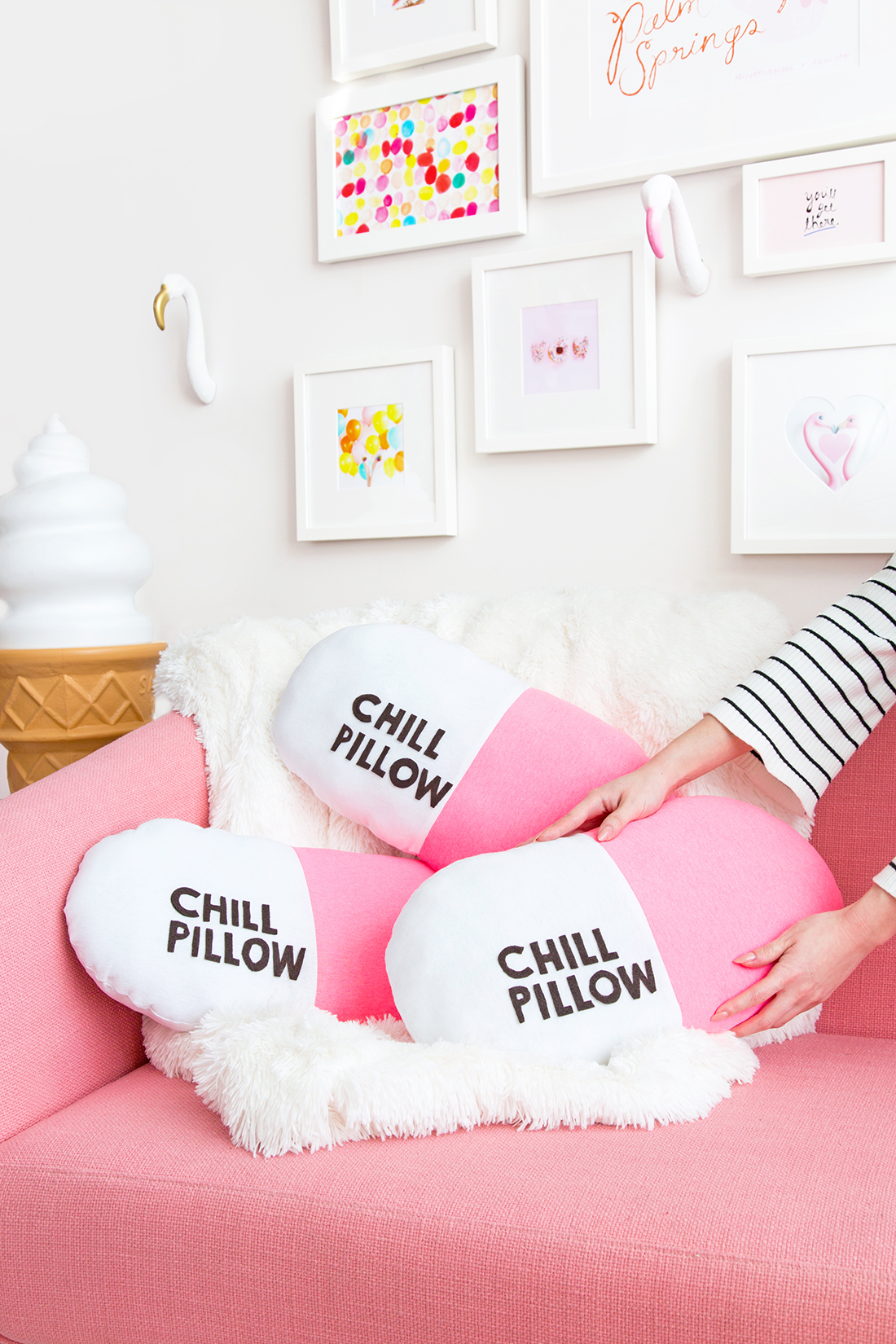 Easy DIY Chill Pillow