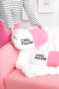 Easy DIY Chill Pill-ow