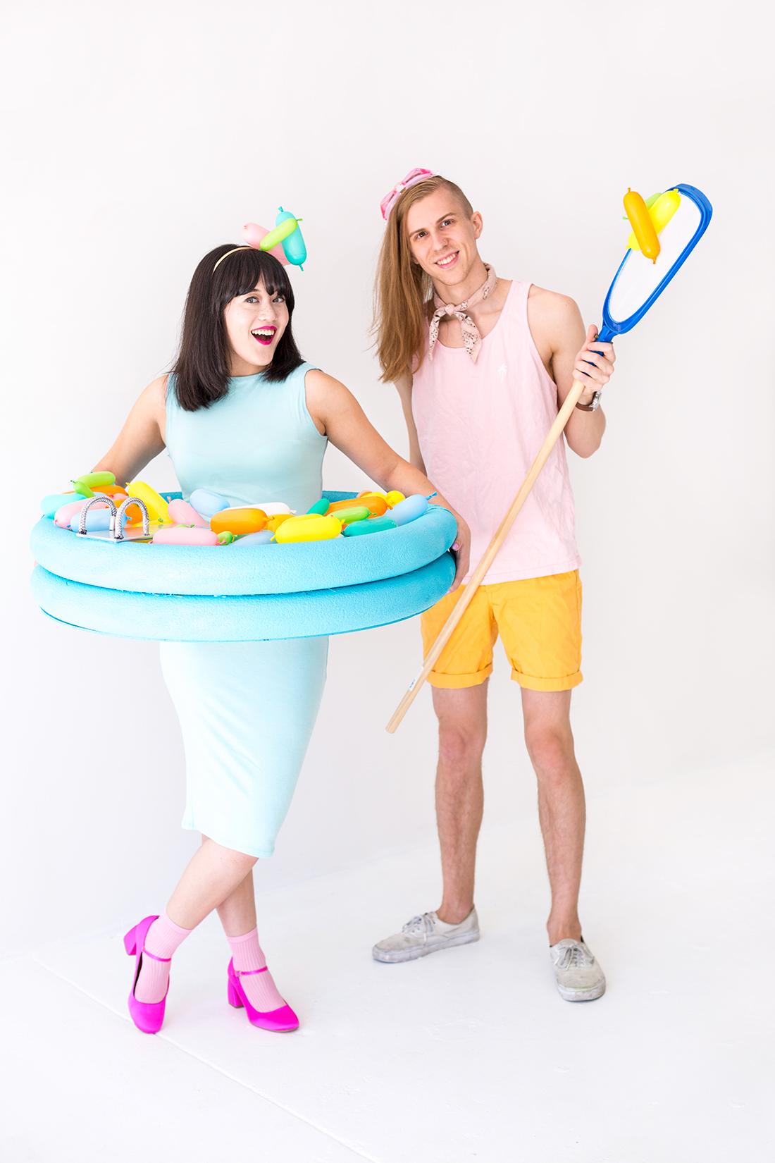 diy sprinkle pool costume