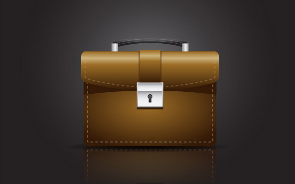 Create A Briefcase Icon