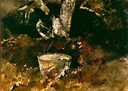 Half Bushel, Andrew Wyeth, 1959