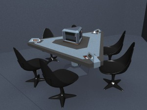 Briefing Room Table Concept