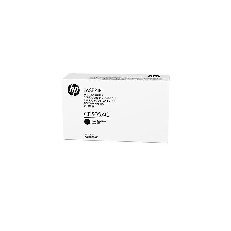 HP originál toner CE505AC, black, 2300str., 05A, HP