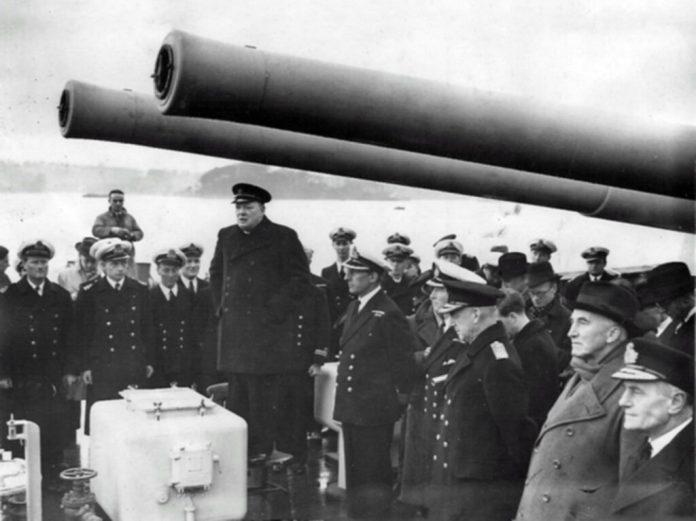 Churchill - HMS Exeter
