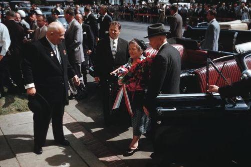 Eisenhower - Kroutchev