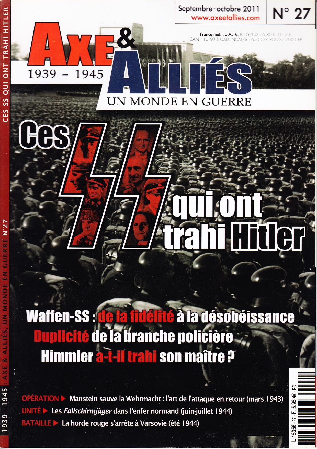 Axe & Alliés 27